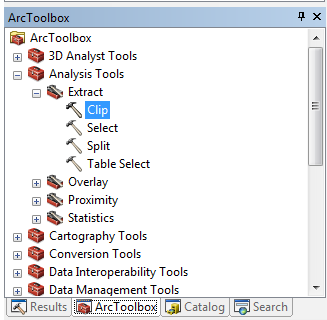ArcMap – Clip Tool (Analysis) – GIS Priority